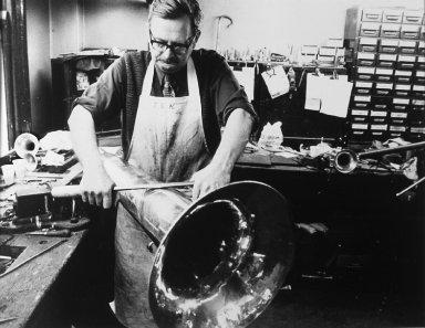 Brass band instrument maker